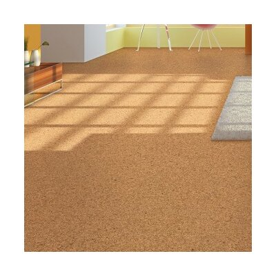 "11-5/8"" Engineered Cork Hardwood Flooring In Marmol"