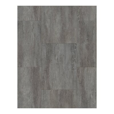 Coretec Plus 18.5 x 24 x 8mm WPC Luxury Vinyl Tile in Weathered Concrete