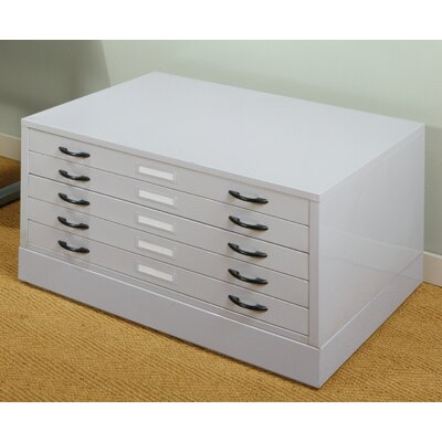 "Studio Designs 15.5"" x 40.75"" Flat File in Light Grey at Sears.com"