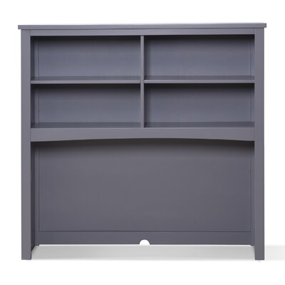Panama Beach 44 H x 46 W Desk Hutch Finish: Pebble Gray