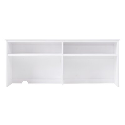 Pine Creek 23 H x 52 W Desk Hutch Finish: White
