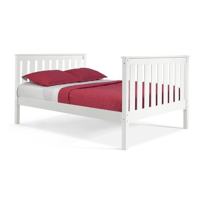 Pine Creek Full/Double Platform Bed Color: White