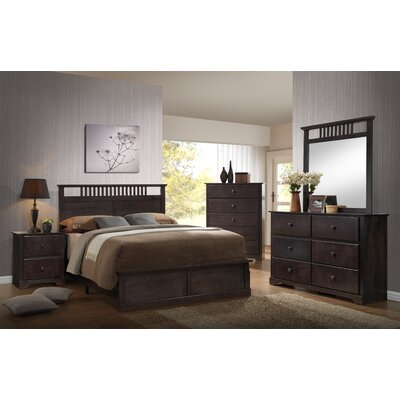 Hayden 6 Drawer Double Dresser