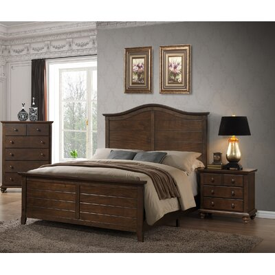 Hillbrooke Queen Platform Bed