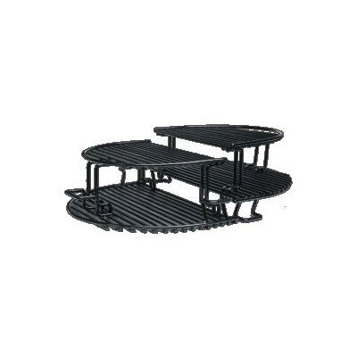 Extended Cooking Rack for Oval Junior Grill