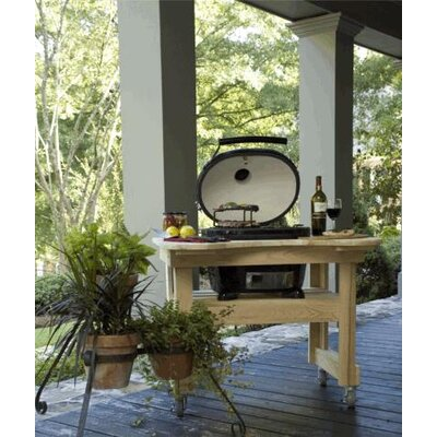 Cypress Table for Oval Junior Grill