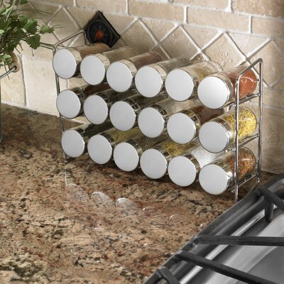 Polder Compact Spice Rack (Set of 6)