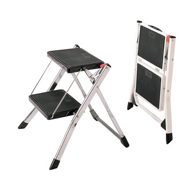 Polder Mini 2 Step Stool in Chrome at Sears.com