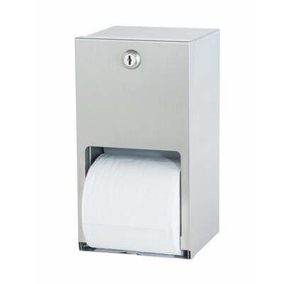 Dual-Roll Toilet Paper Holder