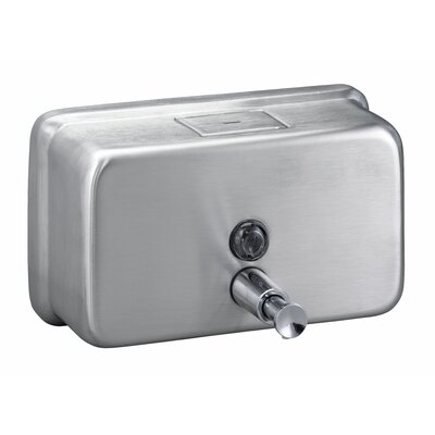 Surface-Mounted Horizontal Soap Dispenser