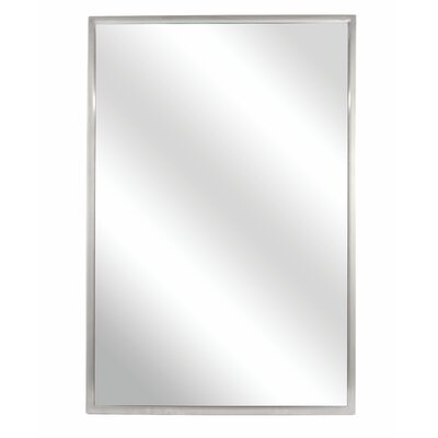 "Fixed Angle Tilt-frame Wall Mirror Size: 30"" H X 18"" W"