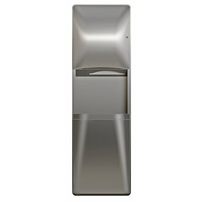 Diplomat Series Paper Towel Dispenser and Waste Receptacle