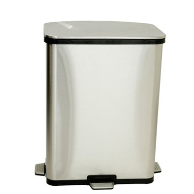 ITOUCHLESS Fingerprint Proof Step Sensors Trash Can