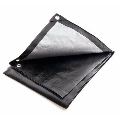 30 Ft. W x 30 Ft. D Tarp Color: Black / Silver