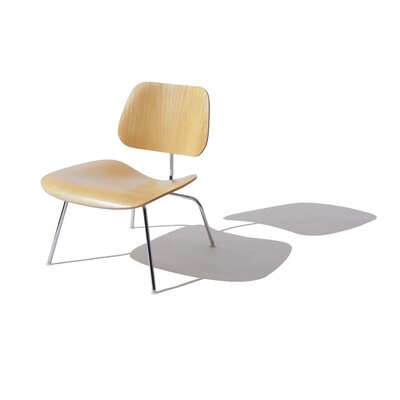 Herman Miller Eames DCM Molded Plywood Dining Chair With Metal Legs Wood Ve