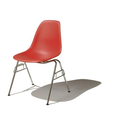 low price herman miller eames dss molded plastic side chair with 4