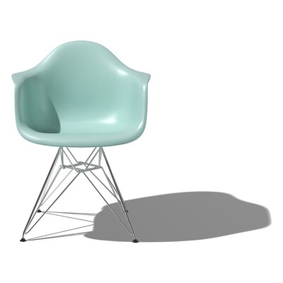 No credit check financing Eames DAR - Molded Plastic Arm Chai...