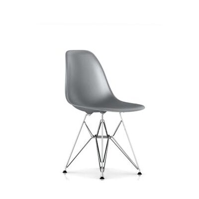 Credit for Eames DSR - Molded Plastic Side Cha...