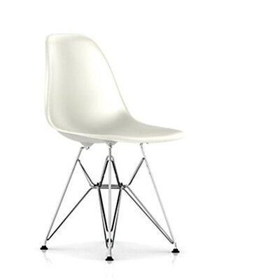 low price herman miller eames dsr molded plastic side chair with