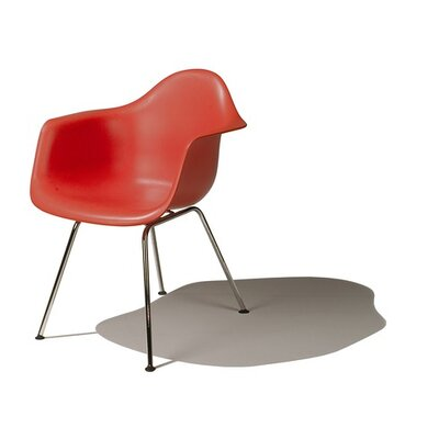 No credit check financing Eames DAX - Molded Plastic Arm Chai...