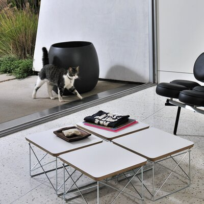 Rent to own Eames Wire-Base Table Finish: White...