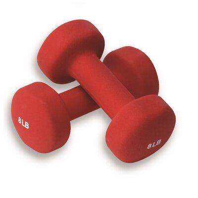 Hand Weights (Pair of Weights) Weight: Set of 2 (8 lbs. weights)