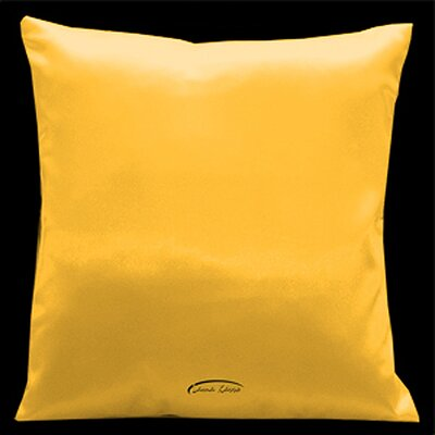 Simply Perfection Throw Pillow Color: Golden Yellow