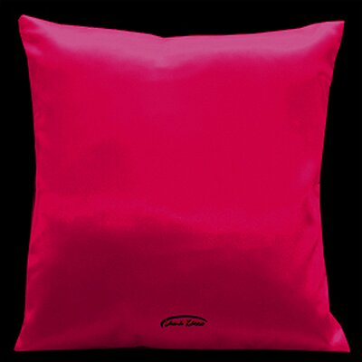 Simply Perfection Throw Pillow Color: Pink Red