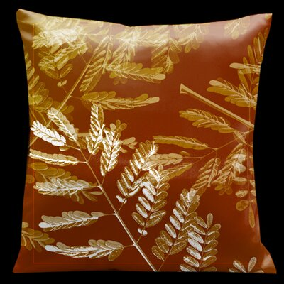 Impressions Burnt Sienna Micro-Suede Throw Pillow