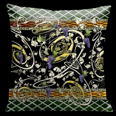 Como Gardens Microsuede Throw Pillow