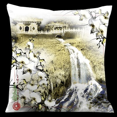 Exotic Asia Throw Pillow