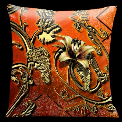 Como Gardens Throw Pillow