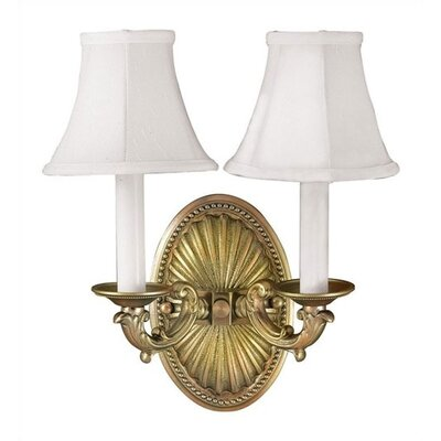 World Imports Lighting Angela Wall Sconce in Wrought Iron | Wayfair