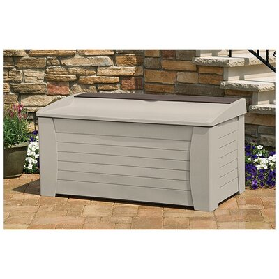 Suncast Resin Deck Storage Box with Seat at Sears.com