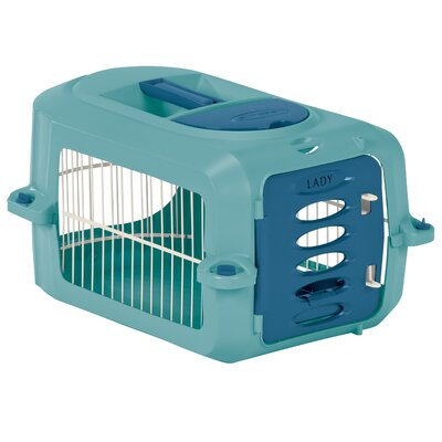 Holston Portable Pet Crate Size: Small (10.25 H x 13 W x 19.5 L)