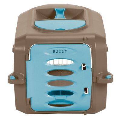 Holston Portable Pet Crate Size: Large (12.5 H x 15 W x 23 L)