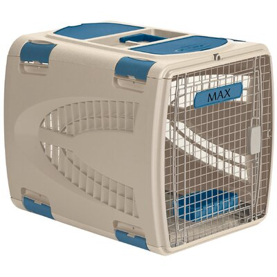 Square Pet Carrier Size: Small (18.5 H x 17.5 W x 24 L)