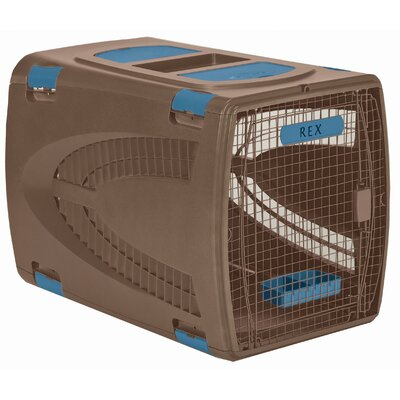 Square Pet Carrier Size: Large (26 H x 23.5 W x 36 L)