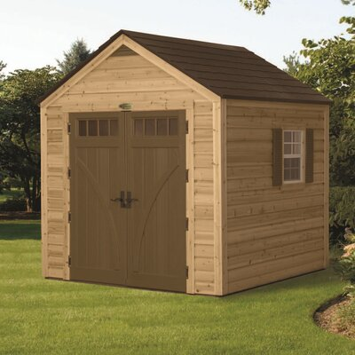 Suncast American Wood Storage Shed at Sears.com