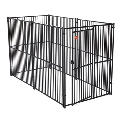 European Style Wide Yard Kennel Size: 6 H x 5 W x 10 L