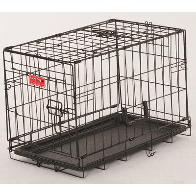 Lucky Dog 2 Door Training Crate Size: 16 H x  13 W x 22 D