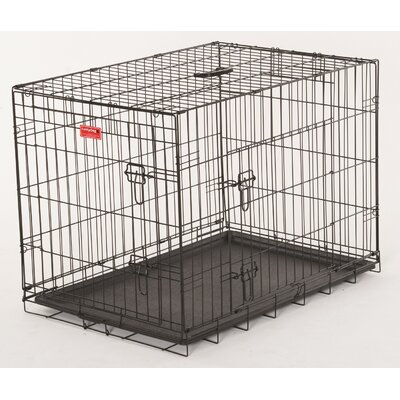 Quincy Lucky Dog 2 Door Training Crate Size: 21 H x 18 W x 24 D
