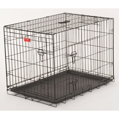 Lucky Dog 2 Door Training Crate Size: 24 H x 21 W x 30 D