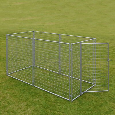 Alina? Welded Wire Yard Kennel Size: 6 H x 5 W x 10 L