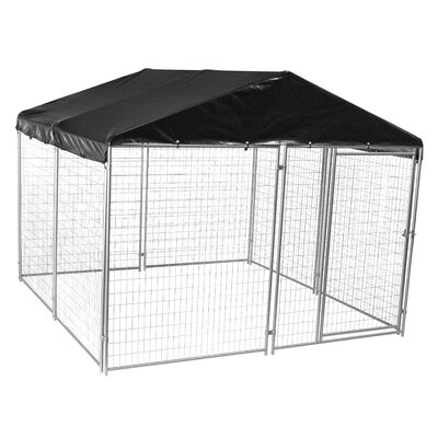 Lucky Dog� Modular Welded Wire Yard Kennel