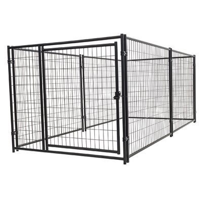 Alina? Steel Wire Yard Kennel Size: 4 H x 5 W x 10 L