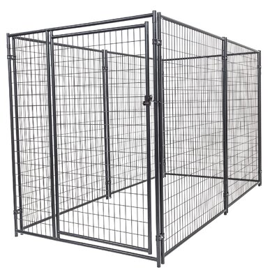 Lucky Dog� Steel Wire Yard Kennel Size: 6 H x 5 W x 10 L