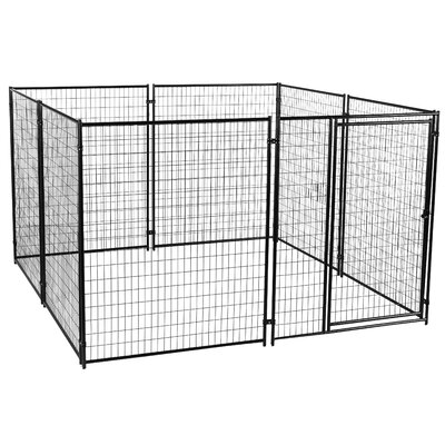 Alina? Welded Wire Yard Kennel Size: 6 H x 4 W x 8 L