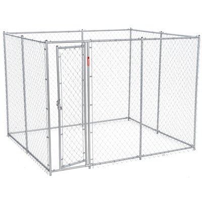 Lucky Dog Champion Steel Yard Kennel Size: 6H x 5W x10L