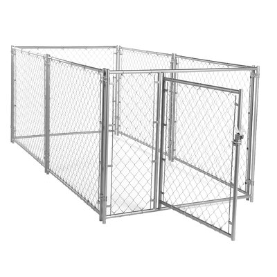 Lucky Dog� Chain Link Yard Kennel Size: 4 H x 5 W x 10 L